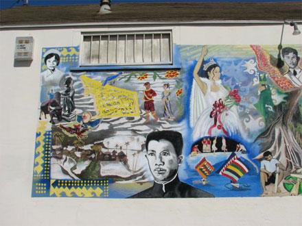 Mural Central Coast California Filipino American